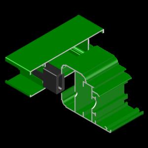 supporto fascione in nylon serie 30