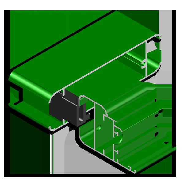 supporto fascione in nylon serie 40